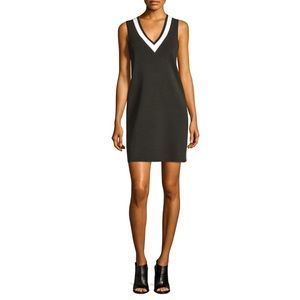 Ainsley Bicolor Sleeveless Knit Dress